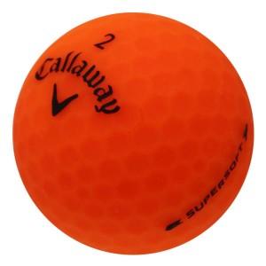 Callaway Supersoft Matte Orange - 1 Dozen