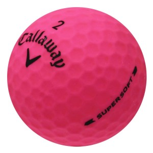 Callaway Supersoft Matte Pink - 1 Dozen