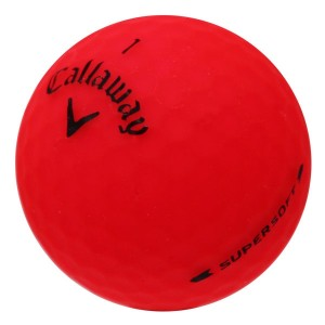 Callaway Supersoft Matte Red - 1 Dozen