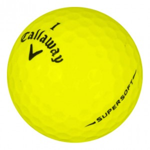 Callaway Supersoft Yellow - Mint (5A) - 1 Dozen