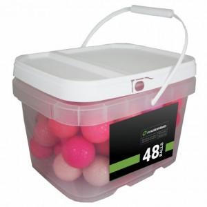 48 Premium Pink Mix Bucket