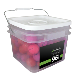 96 Premium Pink Mix Bucket