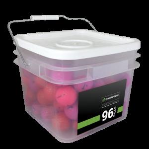 96 Premium Pink Mix Bucket - Mint (5A)