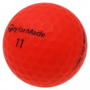 TaylorMade Project (s) Matte Red- 1 Dozen