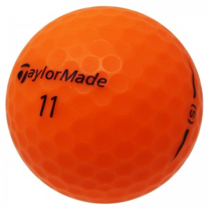 TaylorMade Project (s) Matte Orange - 1 Dozen