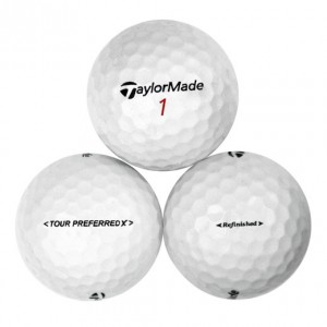 TaylorMade Tour Preferred X - Factory Refinished No Logo - 1 Dozen