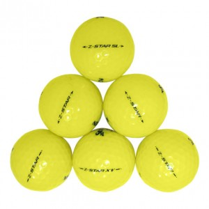 Srixon Z-Star Yellow Mix - 1 Dozen