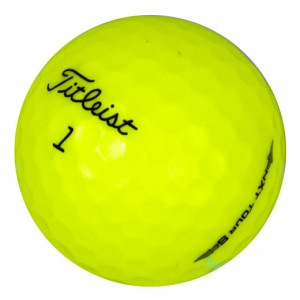 Titleist NXT Tour S Yellow - Mint (5A) - 1 Dozen