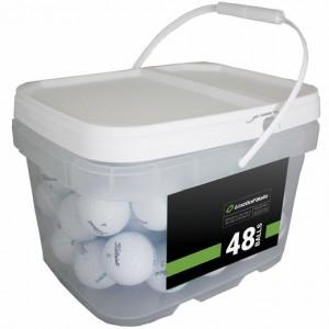 48 Titleist Pro V1x 2018 Bucket - Near Mint (4A)