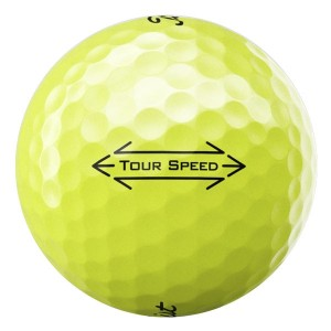Titleist Tour Speed Yellow - 1 Dozen Pristine Quality