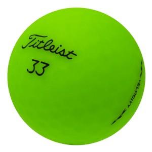 Titleist Velocity Matte Green - 1 Dozen