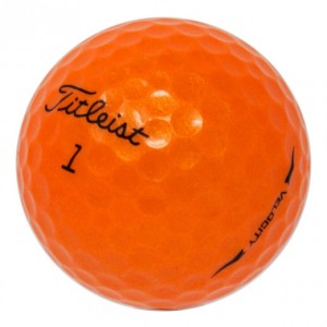 Titleist Velocity New Generation Orange - 1 Dozen