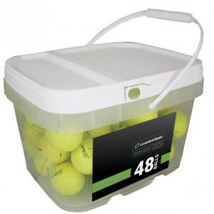 48 Titleist AVX Yellow Bucket
