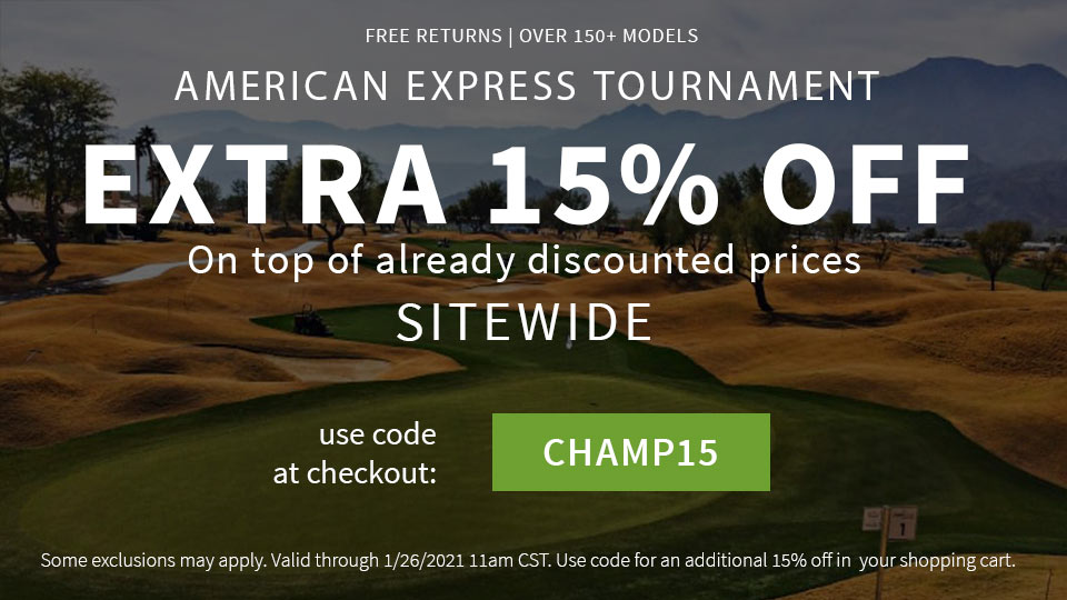 AMEX Tournament- Extra 15%