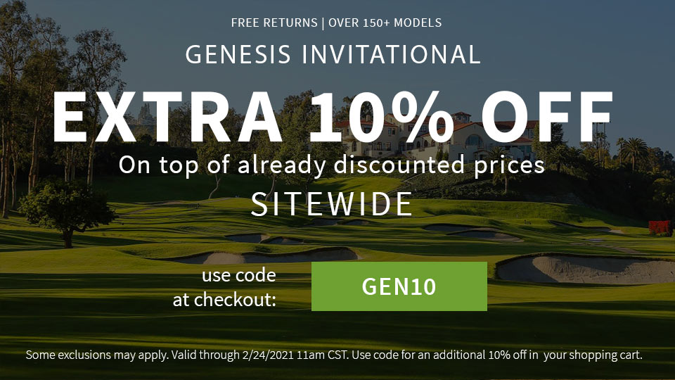 Genesis Invitational 10% Off