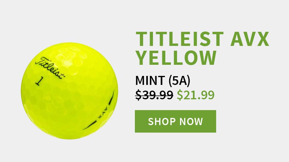 Titleist AVX Yellow