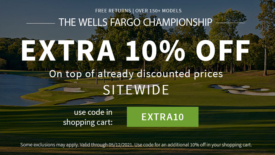 The Wells Fargo Championship - Extra 10% Off - Code EXTRA10
