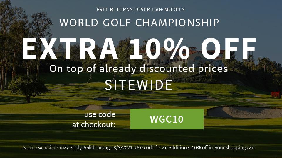 WGC 10% Off