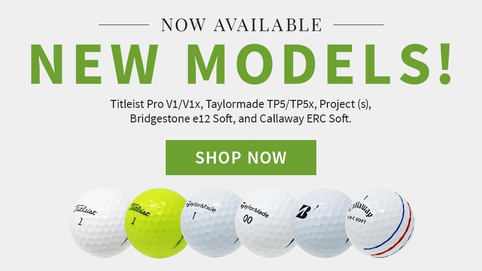 New Golf Ball Models