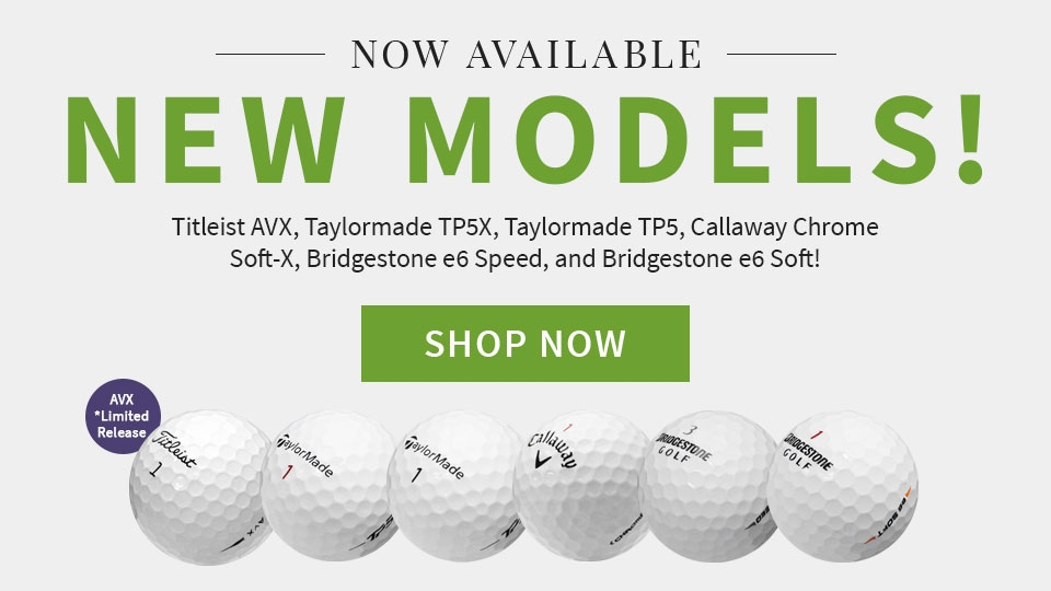 New Golf Ball Models
