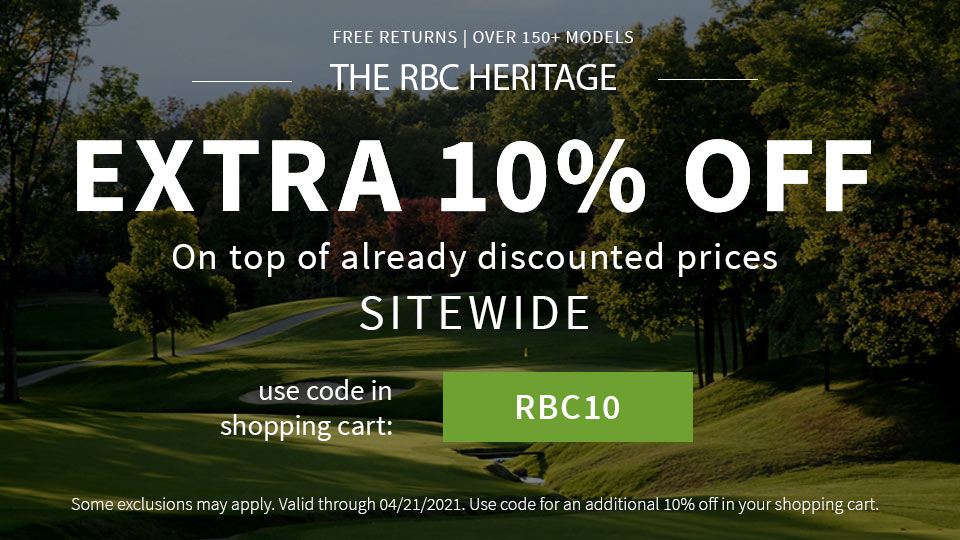 The RBC Heritage - Extra 10% Off - Code RBC10