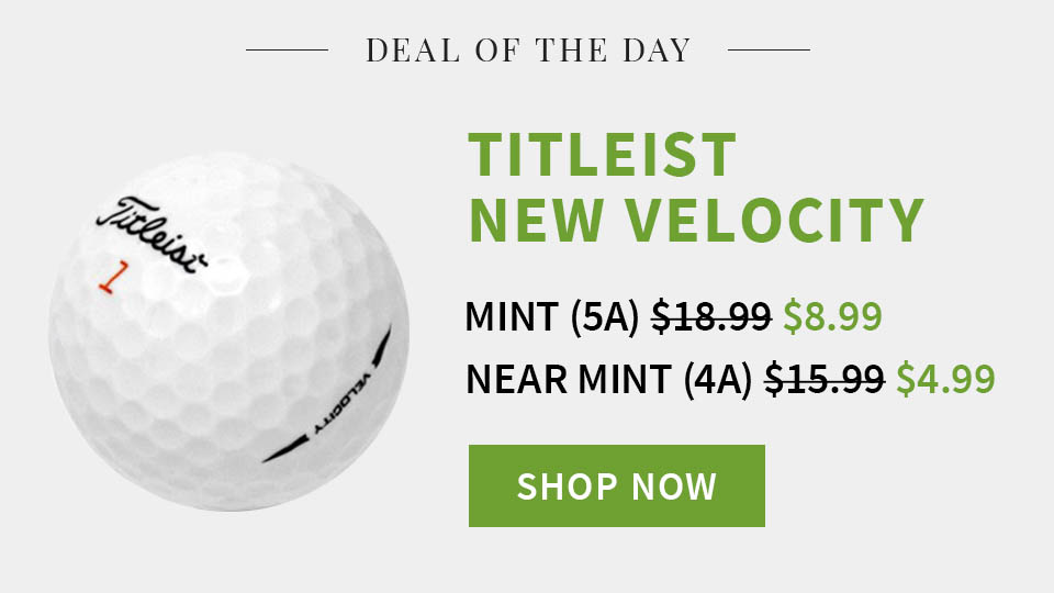 Deal of the Day - Titleist Velocity