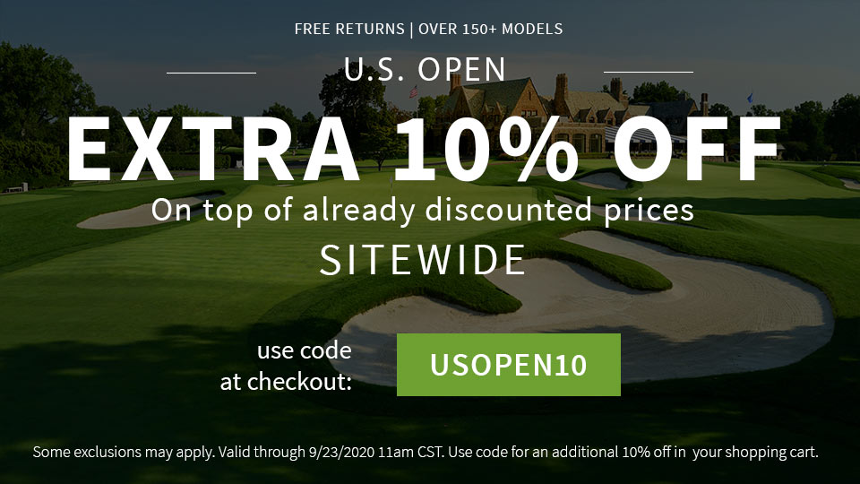The U.S. Open Special+ Extra 10%