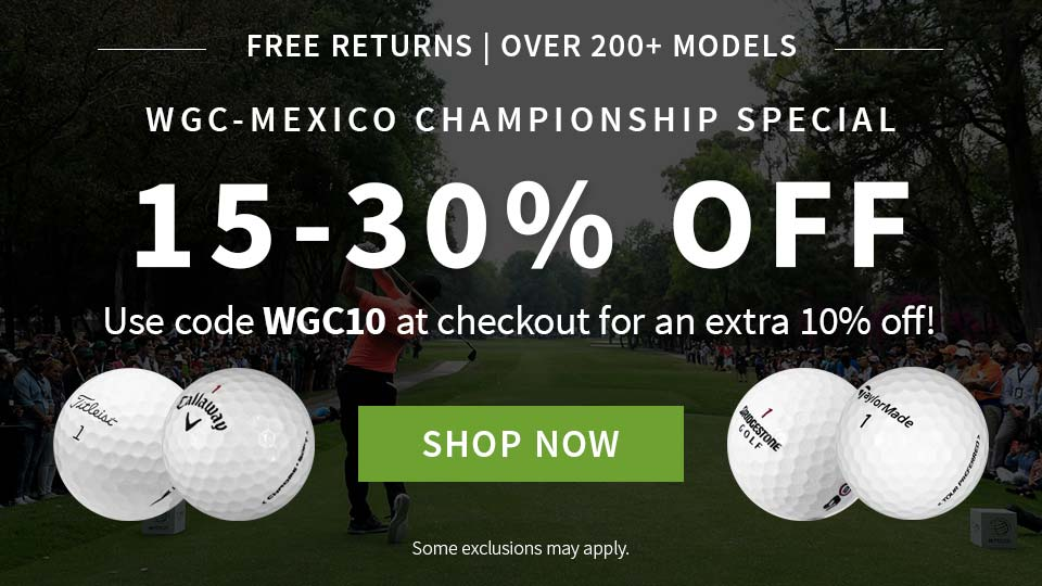 WGC Special - Extra 10% Off - Code WGC10