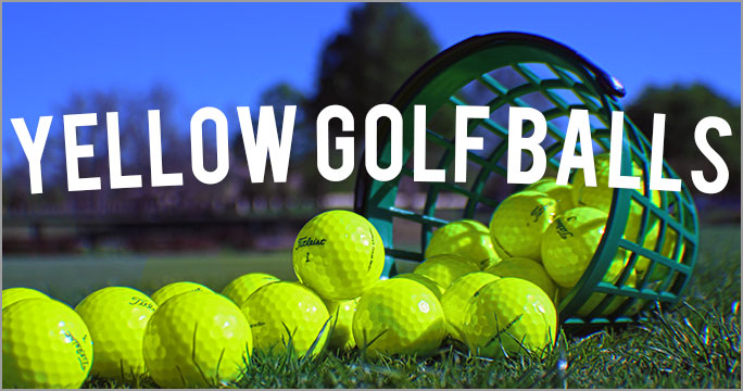 Yellow Golf Balls